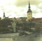 Tallinn web cam showing city view