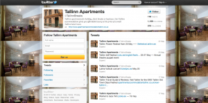 Tallinn Breaks Twitter Feed