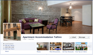 Tallinn Accommodation Facebook