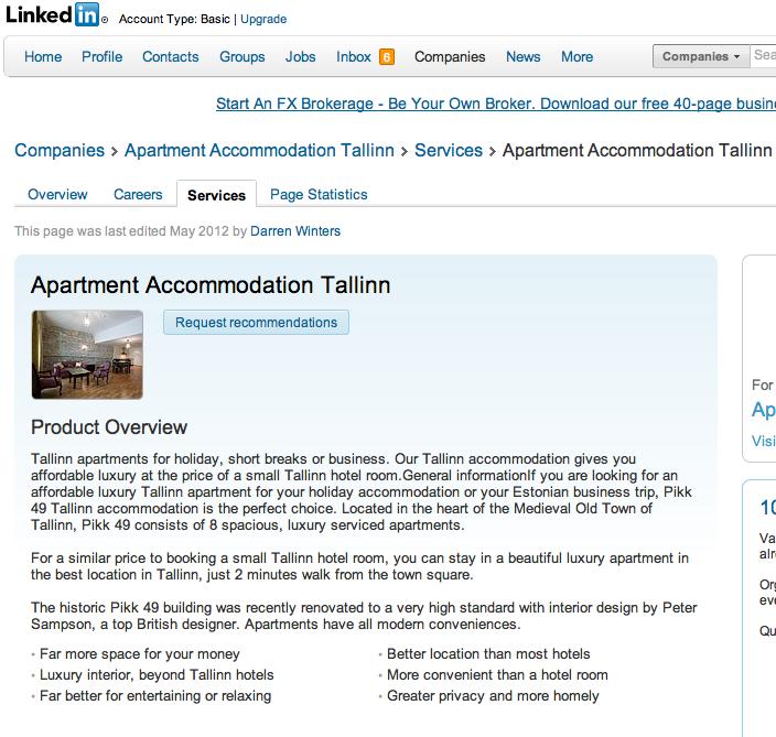 Apartment Guide Ratings: Tallinn Travel Guide & Tallinn Reviews